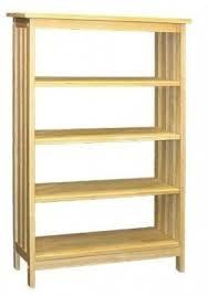 Unfinished Furniture Bookshelves by Shaker Bookcases Foter