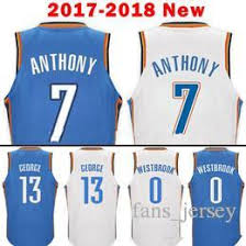 mens 13 paul george jersey 2017 2018 new blue white