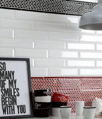 cuisine faience metro carrelage metro blanc castorama beautiful stunning