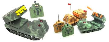 nerf remote control tank r c missile launcher unstoppable cube warfare the green head