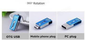 Otg Stick Dm Pd010 Usb Otg Flash Drive 16g Pen Drive Portable Metal Waterproof