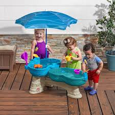 step2 busy ball play table step2 spill splash seaway water table amazon co uk toys games