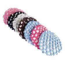 crochet hair bands baby princess diy hair band pad bun cover snood pearl ballet