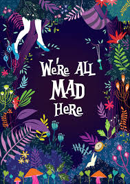 cute disney halloween backgrounds we u0027re all mad here