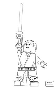 Lego Star Wars Clone Wars Cartoons Lego Star Wars Coloring Pages Wars Clone Coloring Pages