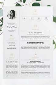 professional resume cv and cover letter template easy to edit