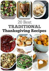 20 best traditional thanksgiving recipes