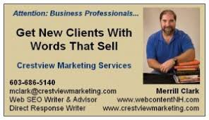 Merrill Business Cards Effective Direct Response Marketing With Your Business Card