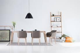 Esszimmer Eiche Grau Esstisch Stühle Stoff Mxpweb Com