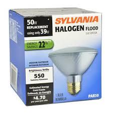 flood light bulbs sylvania sylvania halogen 39 watt par 30 shortneck medium base e 26 base