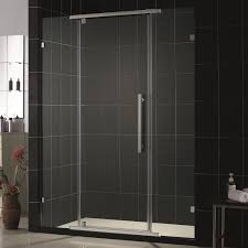 bathroom modern merola tile wall with kohler shower doors and