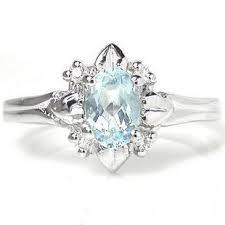 Aquamarine Wedding Rings by 5 Carat Beautiful Solitaire Aquamarine Engagement Ring For Women