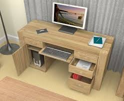 Small Oak Computer Desk Computer Desk For Home Felix Home Office Wooden Corner Computer
