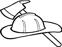 Firefighter Hat Coloring Page Clipart Panda Free Clipart Coloring Page Of A Hat
