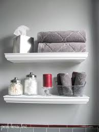 Bathroom Shelve Small Bathroom Shelves White Playmaxlgc