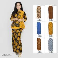 desain baju batik untuk acara resmi model baju batik muslimah batikunik com