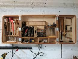Wood Tool Storage Cabinets Hand Tool Cabinet Build Album On Imgur