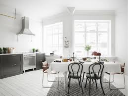 dining room modern scandinavian dining room features slanted