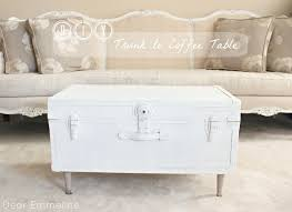 diy wooden trunk coffee table simple woodworking plan thippo