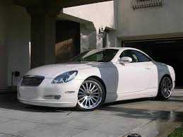 lexus sc430 kit anyone before and after pictures with a wald kit