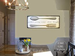 lake girl paints making dining room wall art making dining room wall art