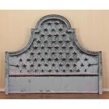Upholstered Reception Desk Upholstered Tufted Headboard Indonesian French Furniture Teak
