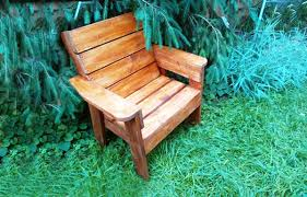 Plans To Build Wooden Patio Furniture by Diy Patio Chair Howtospecialist How To Build Step By Step Diy