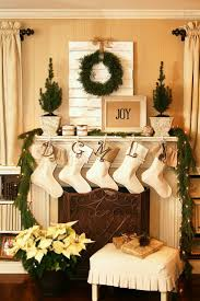 surprising fireplace christmas decorating ideas images decoration