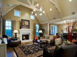 Living Room High Ceiling Living Room High Ceiling Living Room With Cone Chandelier And
