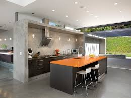 orange kitchen design orange and black interiors living rooms bedrooms and kitchens