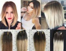 ombre extensions clip in hair extensions ebay