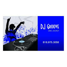 exciting disc jockey business cards unique business cards 11862