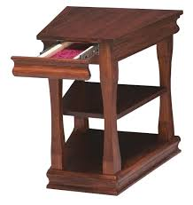 wedge shaped end table furniture triangle shaped end table wedge wood end table with