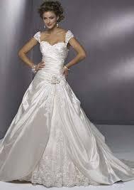 robe de mariã e satin a line princess sweetheart chapelle robes de mariã e flickr