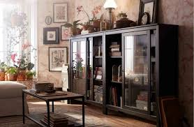 livingroom cabinets storage cabinets ikea hemnes glass door cabinet black brown