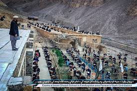 Flag Of The Taliban Taliban Schoolboys Take Their Exams With Armed Supervisors New