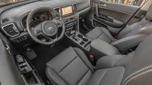 kia sportage 2016 interior first drive 2017 kia sportage cuv with specs photos and price