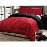Red And White Comforter Sets Black Comforters