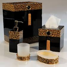 animal print bath accessories best 25 leopard print bathroom