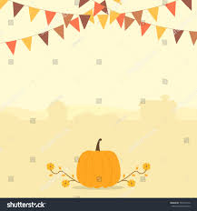 autumn harvest season thanksgiving themed banner stock vector
