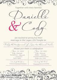 Wedding Invitations Utah 43 Best Wedding Invitations Images On Pinterest Marriage