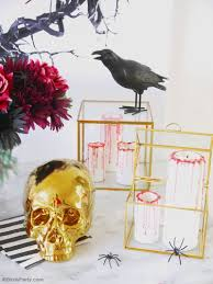 cocktail party decorations creepy n u0027 chic halloween cocktail party ideas party ideas
