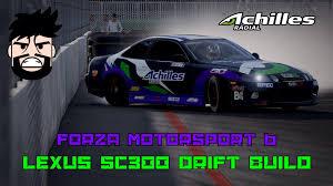 lexus sc300 handling forza motorsport 6 lexus sc300 drift setup youtube
