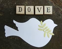 Baptism Christmas Ornament 100 Die Cut Dove Bird Craft Paper Wedding Baptism Annnivsary