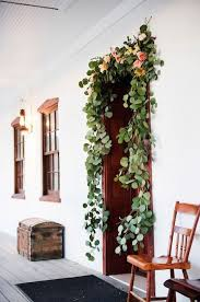 Wedding Ceremony Decorations Natural Garland Wedding Ceremony Decorations Once Wed