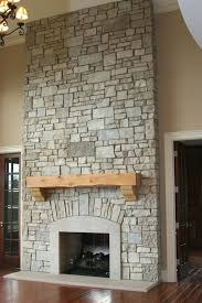 brick fireplace with stone hearth makeover remodel wall ravishing
