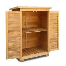 outdoor wood storage cabinet wooden storage cabinet