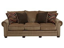 Curved Arm Sofa by Rolled Arm Sofa Centerfieldbar Com
