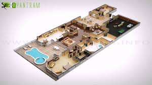 duplex house plans in 3d youtube