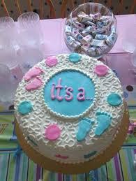 gender reveal cake u2026 pinteres u2026